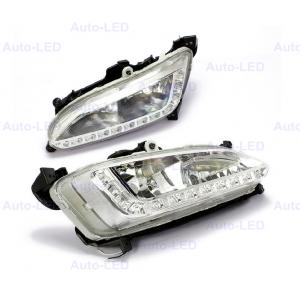 Дневные ходовые огни DRL Auto-LED для Hyundai Santa Fe 2013