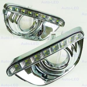 Дневные ходовые огни DRL Auto-LED для Jeep Compass 2010-