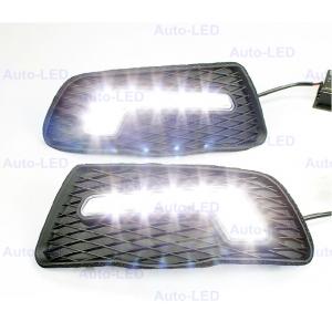 Дневные ходовые огни DRL Auto-LED для Mercedes C-Class w204 v2