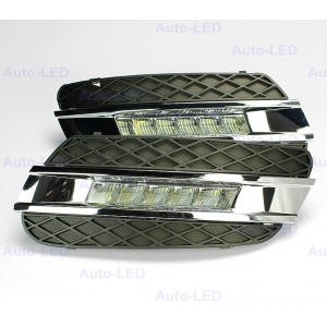 Дневные ходовые огни DRL Auto-LED для Mercedes ML W164 2008-2009