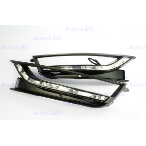 Дневные ходовые огни DRL Auto-LED для VW Passat 2011