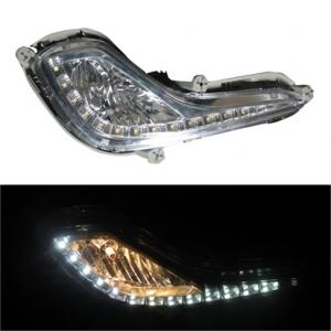ДХО LED-DRL для Hyundai Accent 2011+