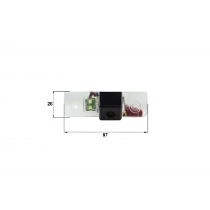 Камера заднего вида Skoda Octavia A5 (Falcon SC04HCCD-170)