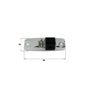 Камера заднего вида Hyundai Elantra (Falcon SC07HCCD-170)