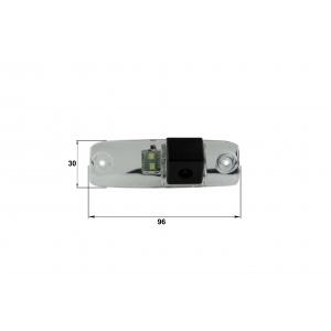 Камера заднего вида KIA Sorento (Falcon SC07HCCD-170)
