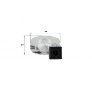 Камера заднего вида Toyota Corolla 2013 (Falcon SC100HCCD-170)