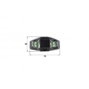 Камера заднего вида Honda Accord 2008 (Falcon SC12HCCD-170)