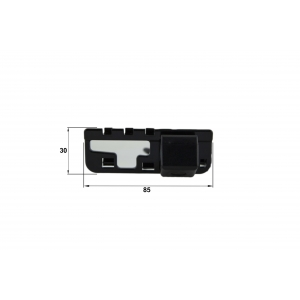 Камера заднего вида Honda Civic 4D (Falcon SC15HCCD-170)