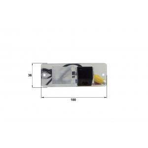Камера заднего вида Mitsubishi Pajero (Falcon SC29HCCD-170)