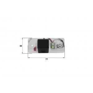 Камера заднего вида VW Tiguan (Falcon SC32HCCD-170)
