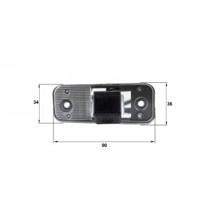 Камера заднего вида Hyundai Azera (Falcon SC35HCCD-170)