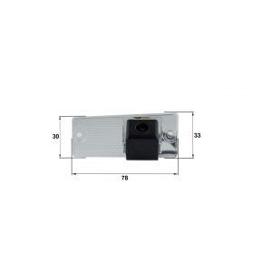 Камера заднего вида KIA Cerato (Falcon SC41HCCD-170)
