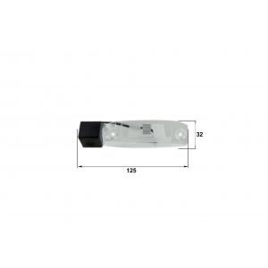 Камера заднего вида KIA Sportage (Falcon SC42HCCD-170)