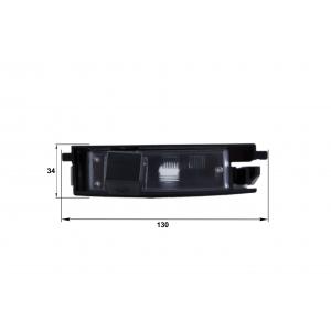 Камера заднего вида Chery A3 (Falcon SC73HCCD-170)