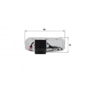 Камера заднего вида Honda Accord 2011 (Falcon SC80HCCD-170)