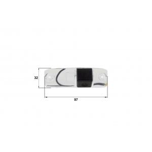 Камера заднего вида KIA Sorento, Hyundai Accent (Falcon SC98HCCD-170)