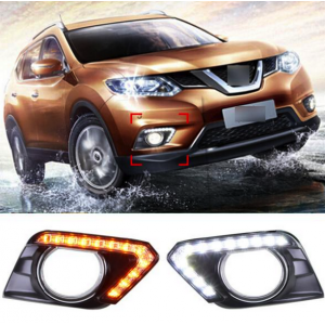 дхо led-drl для nissan x-trail 2014+ LED-DRL