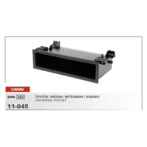 Рамка переходная для автомагнитолы CARAV 11-045 1-DIN