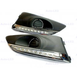 Дневные ходовые огни DRL Auto-LED для Chevrolet Aveo 2012+
