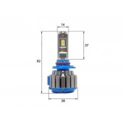 Светодиодная LED лампа Sho-Me G1.5 HB3 (2шт)