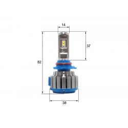 Светодиодная LED лампа Sho-Me G1.5 HB4 (2шт)