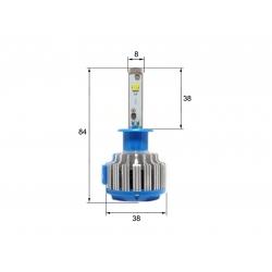Светодиодная LED лампа Sho-Me G1.5 H1 (2шт)