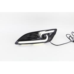 ДХО LED-DRL для Ford Fiesta 13+ V2