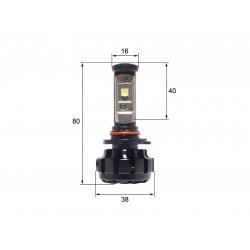 Светодиодная LED лампа Sho-Me G1.4 HB3 (2шт)