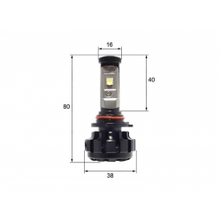 Светодиодная LED лампа Sho-Me G1.4 HB4 (2шт)